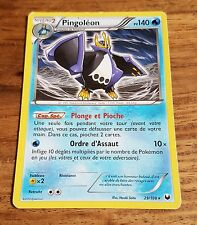 Carte Pokémon Pingoléon PV 140 29/108 Noir & Blanc Explorateurs Obscurs VF