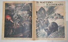 1941 Guerra Navale Baltico sommergibile Roosevelt Truppe d assalto Incisori 700