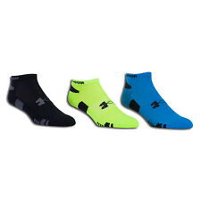 3 Pair Under Armour UA U250 HeatGear No Show Socks Men's [ Select Color & Size ]