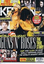 GUNS N' ROSES / ASKING ALEXANDRA Kerrang May 19 2012
