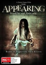 The Appearing (DVD, 2015) HORROR [Region 4] NEW/SEALED Based on true events