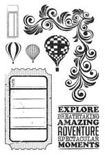 Up Up and Away Collection Clear Stamp Set Kaisercraft Card Making (Unmounted)