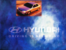 2001 Hyundai Sonata Original Car Product Media News Guide Brochure like