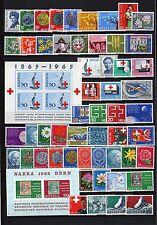 Schweiz- Lot ** - aus  1962 - 65 - KW  52,-- €  ( 32085 )