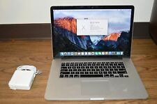 "Apple MacBook Pro Retina 15"" - 2012 - 2.6GHz i7 - 512GB SSD - 8GB RAM - 650m!"