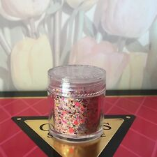 glitter acrylic  nail Art  2 TSP.  Pre-Mixed With Clear Acrylic read ALL details