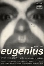 17/7/93PGN24 EUGENIUS : CAESAR'S VEIN SINGLE ADVERT 7X5""