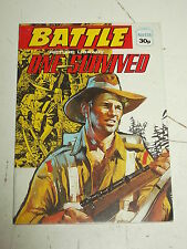BATTLE #136 WAR STORIES POCKET PICTURE LIBRARY BRITISH WEEKLY COMIC