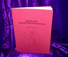 SIGILS & ANCIENT EGYPTIAN MAGICK Finbarr Grimoire Magic Spells Occult Witchcraft