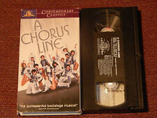 A Chorus Line-White Christmas-On the Town-Stage Door Canteen (VHS x 4) Musicals)