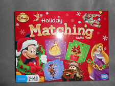 DISNEY MICKEY MOUSE & FRIENDS CHRISTMAS HOLIDAY PICTURE  MATCHING GAME