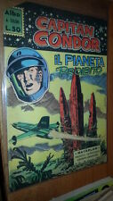 CAPITAN CONDOR # 16  - RATAPLAN-EDIZIONI AMERICANE-25 AGOSTO 1962- RARO