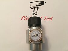 CO2 Regulator - Solid Aluminum Body With Belt Clip 0-125 PSI WRCO2
