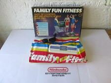 nintendo nes FAMILY FUN FITNESS -boxed-
