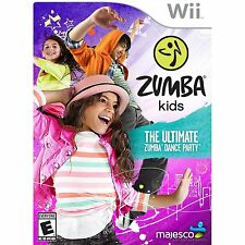 Nintendo Wii Zumba Kids Ultimate Dance Party Game BRAND NEW SEALED