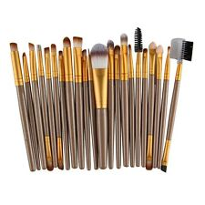 22Pcs/Set Makeup Brush Tools Make-up Toiletry Kit Wool Make Up Brush Set UK