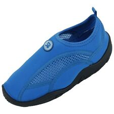 New Childrens Kids Boys Girls Slip On Water Shoes/Aqua Socks/Pool Beach,5 Colors