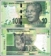 South Africa - 10 Rands - UNC note with omron circle - Mandela series