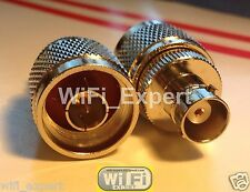 N Male Jack to BNC Female plug RF coaxial Adapter RF Connector USA