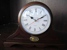 TPC The President's Cup Golf WOOD Mantle MANTEL Clock NEW in Box Memory Co