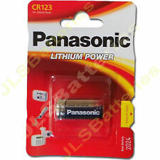 1 x Panasonic Lithium DL123A CR123A 123 Photo Battery CR17345 DL123A