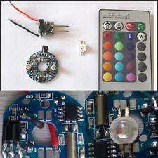 12V POWER DRIVER 3 WATT RGB LED with REMOTE CONTROL DIY