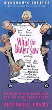 WHAT THE BUTLER SAW JOE ORTON SHEILA GISH Theatre Flyer Handbill