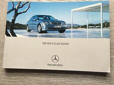 Mercedes E211 Car Brochure