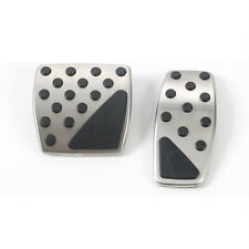 2x Car Nonslip Steel&ABS Accelerator Brake Pedal Kit Cover For Renegade 15-16