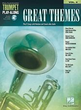 GREAT THEMES Play-Along DRAGNET Sugar Lips TRUMPET SONGS Tunes Music Book 4