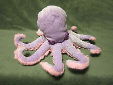 Douglas The Cuddle Toy Octopus Stuffed Plush Sparkles Pink Purple Stuffed Animal