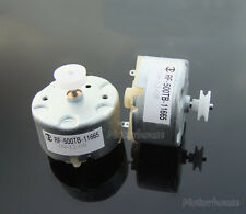 RF-500TB-11665 Micro Mini Quiet slient Pulley Motor 3V-6V for CD DVD VCR Player
