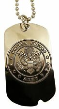 U.S. Army Insignia - Metal Dog Tag / Key Chain 2873