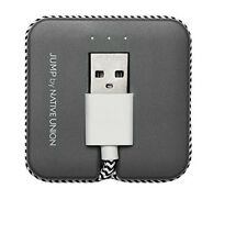 Native Union Jump Cable USB to USB (JUMPMU01) - Gray/Zebra - New Other In Box