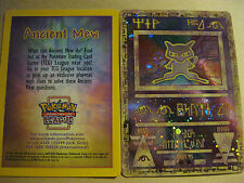 Carta POKEMON PROMO-Ancient Mew CARD (OLOGRAFICA) - (SIGILLATO)
