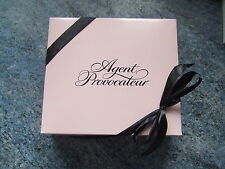 AGENT PROVOCATEUR PINK GIFT BOX + TISSUE & RIBBON PERFECT FOR PRESENTS