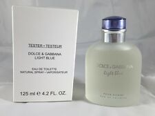 Light Blue By Dolce & Gabbana 4.2 Oz Edt Spray Brand New Tester For Men With Cap
