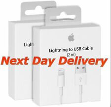 2m Lightning To USB Charger Cable for Apple iPhone 5, 6, 7, 7+