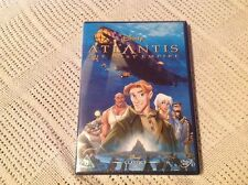 Atlantis - The Lost Empire (DVD, 2002) White Writing On Spine Classic 40 Disney