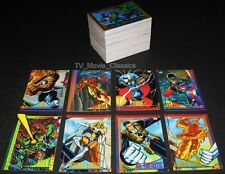 MARVEL UNIVERSE (4th Series) © 1993 SkyBox's Complete 180 Card Set