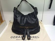 Patiné - Sac gerard darel st germain Midday Midnight 24h En Cuir Noir