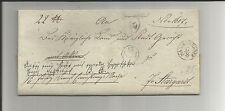 Preussen V / MARIENWERDER Fingerhut-Stempel auf Aktenbegleit-Brief 1835