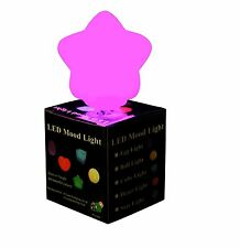 LED Star Mood Light Colour Changing Night Lamp Gift UK