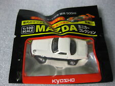 MAZDA COSMO SPORT White Kyosho 1:100 Scale Diecast Model Car