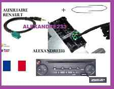 Cable aux adaptateur mp3 autoradio RENAULT UDAPTE LIST 6 pin + 2 cles kangoo 2