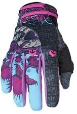 Speed Strength Wicked Garden Mesh and Textile Gloves Black/Purple - XL X-Large