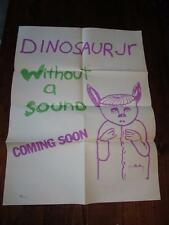 DINOSAUR JR WITHOUT A SOUND 24 X 18 PROMOTIONAL POSTER  1994