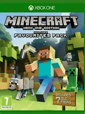 MINECRAFT Inc Favourites Pack - XBOX ONE - FREE UK POST - EN/AR RELEASE - NEW