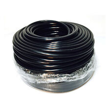 Black ID:5mm wall thickness:3mm Vacuum Silicone Hose Racing line Pipe Tube 8m
