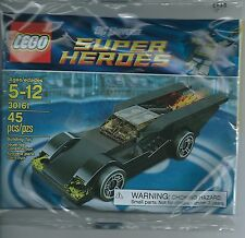 NEW LEGO DC UNIVERSE SUPER HEROES BATMAN BATMOBILE 45 PIECES FACTORY SEALED